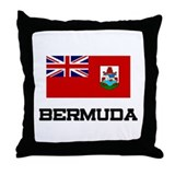 Bermuda Flag Throw Pillow