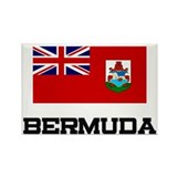 Bermuda Flag Rectangle Magnet