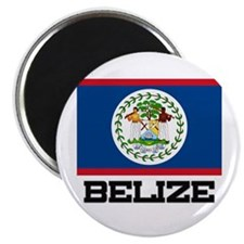 Belize Flag Magnet