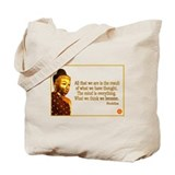 Buddha Buddhism Quotes Tote Bag