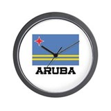 Aruba Flag Wall Clock