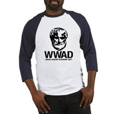 WWAD - Waht would Aristotle do? Baseball Jersey