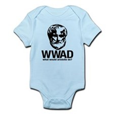 WWAD - Waht would Aristotle do? Infant Bodysuit