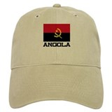 Angola Flag Baseball Cap