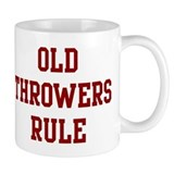 Old Throwers Rule Small Mug
