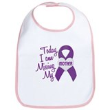 Missing My Mother 1 PURPLE Bib