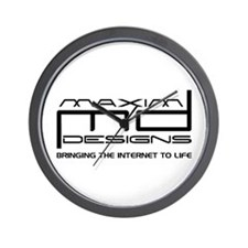 Maxim Designs Logo Wall Clock