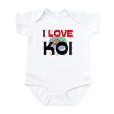 I Love Koi Infant Bodysuit