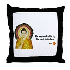 Buddha Buddhism Quotes Throw Pillow