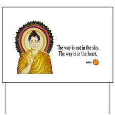 Buddha Buddhism Quotes Yard Sign