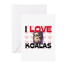 I Love Koalas Greeting Cards (Pk of 10)