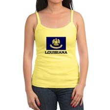 Louisiana Flag Jr.Spaghetti Strap