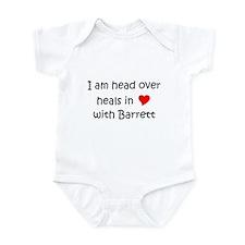 Funny I love barrett Infant Bodysuit