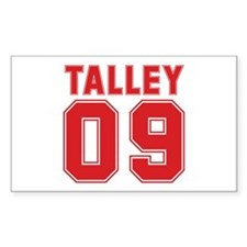 TALLEY 09 Rectangle Decal