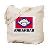 Arkansas Flag Tote Bag