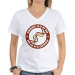 In My DNA Women's V-Neck T-Shirt