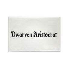 Dwarven Aristocrat Rectangle Magnet (100 pack)