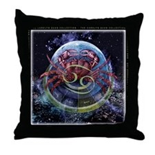 Cancer Zodiac Throw Pillow