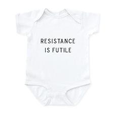Resistance is Futile Infant Bodysuit