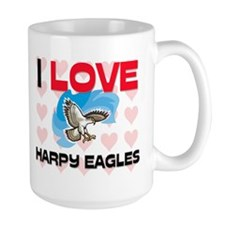 I Love Harpy Eagles Mug