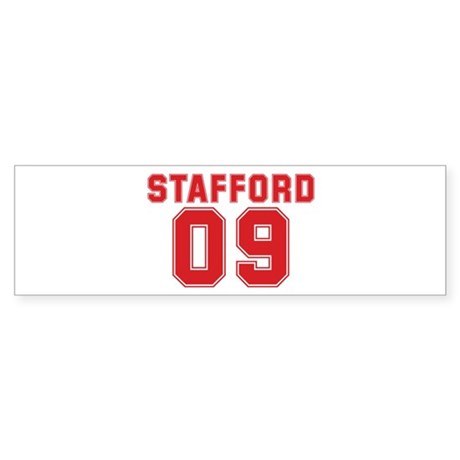 STAFFORD 09 Bumper Sticker
