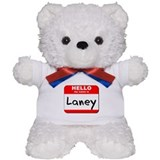 Hello my name is Laney Teddy Bear