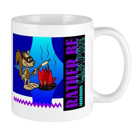 Rather Be Camping Mug