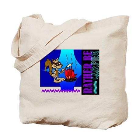 Rather Be Camping Tote Bag