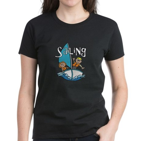 Sailing Women's Dark T-Shirt
