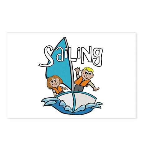 Sailing Postcards (Package of 8)