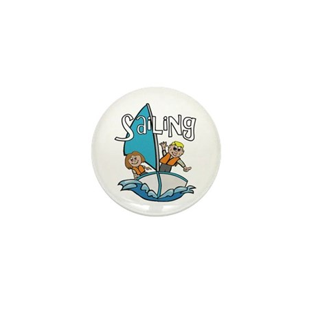 Sailing Mini Button (10 pack)