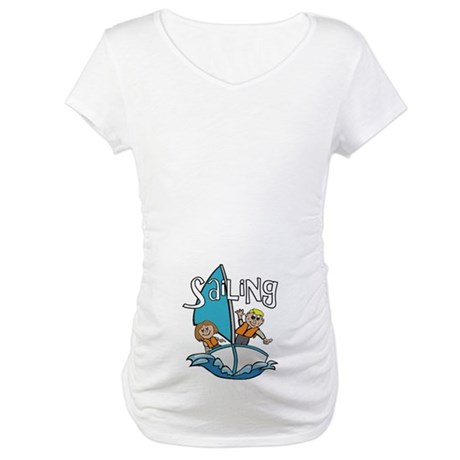 Sailing Maternity T-Shirt