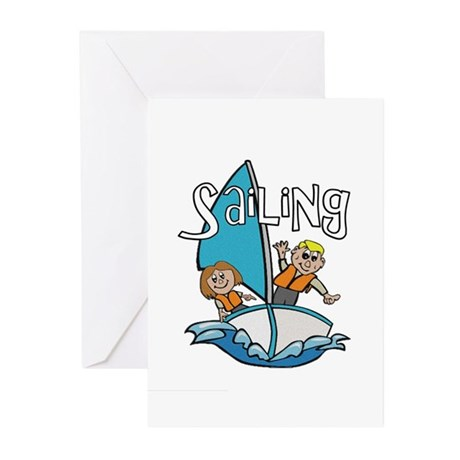Sailing Greeting Cards (Pk of 10)