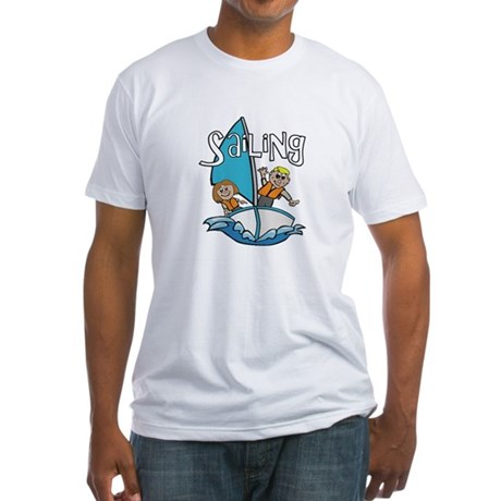 Sailing Fitted T-Shirt