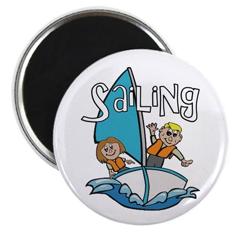"Sailing 2.25"" Magnet (100 pack)"