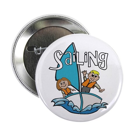 "Sailing 2.25"" Button (10 pack)"