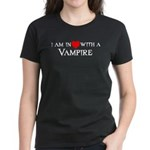 In Love with a Vampire Women's Dark T-Shirt