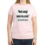 Latin Marriage Alive Quote (Front) Women's Light T