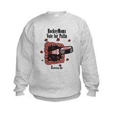 Hockey Moms for Palin Sweatshirt