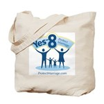 Yes on 8 Protect Marriage Tote Bag