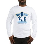 Yes on 8 Protect Marriage Long Sleeve T-Shirt