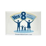 Yes on 8 Protect Marriage Rectangle Magnet (10 pac