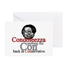 Condoleezza Greeting Cards (Pk of 10)