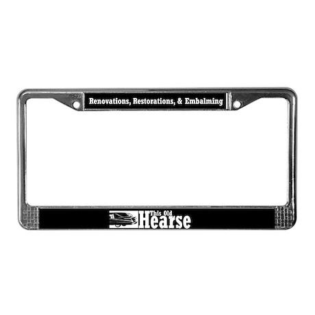 TOH License Plate Frame