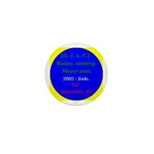 Buday for Mayor Mini Button (10 pack)
