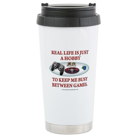 Real Life Ceramic Travel Mug