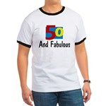 Fifty and Fabulous Ringer T