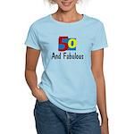 Fifty and Fabulous Women's Light T-Shirt
