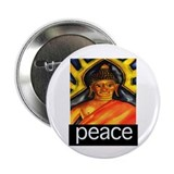 "PEACE (Buddha) 2.25"" Button"