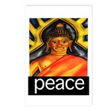 PEACE (Buddha) Postcards (Package of 8)